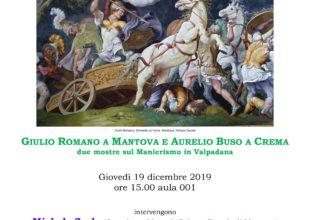 Miniatura per l'articolo intitolato:Università degli Studi di Trento: presentazione delle mostre di Mantova e Crema